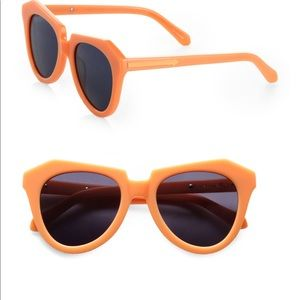 b853cb8389d3 Karen Walker Number One Sunglasses peach orange
